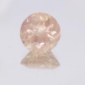 Oregon Sunstone 10 mm Round Cut Untreated I1 Moderate Copper Shiller 3.24 Carat