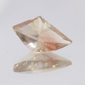Oregon Sunstone 13 mm Fancy Cut Untreated VVS Minimal Copper Shiller 2.54 Carat