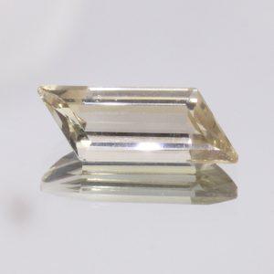 Oregon Sunstone 17 mm Parallelogram Untreated VVS No Copper Shiller 3.20 Carat