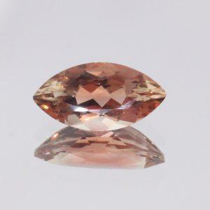 Oregon Sunstone 11 mm Marquise Untreated VVS Minimal Copper Shiller 1.44 carat