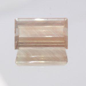 Oregon Sunstone 13.9 mm Rectangle Cut Moderately Heavy Copper Shiller 6.20 carat