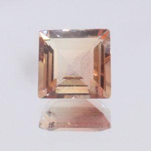 Oregon Sunstone Untreated VS Light Shiller 7 mm Square Precision Cut 1.35 carat
