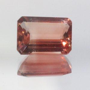 Oregon Sunstone Red Orange 7x5 mm VVS No Copper Shiller Rectangle Gem 0.84 carat