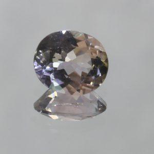 Light Powder Pink Tourmaline Untreated 7.1 x 6 mm Oval VS Clarity Gem 1.01 carat