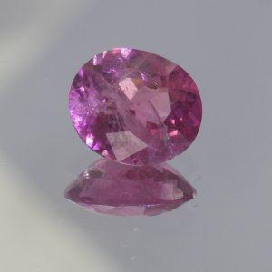 Rose Pink Burmese Spinel Untreated 7.3 x 6.2 mm Oval I2 Clarity Gem 1.03 carat