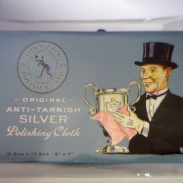 Polishing Cloth to Polish Sterling Silver, Cleans and Protects from Tarnish